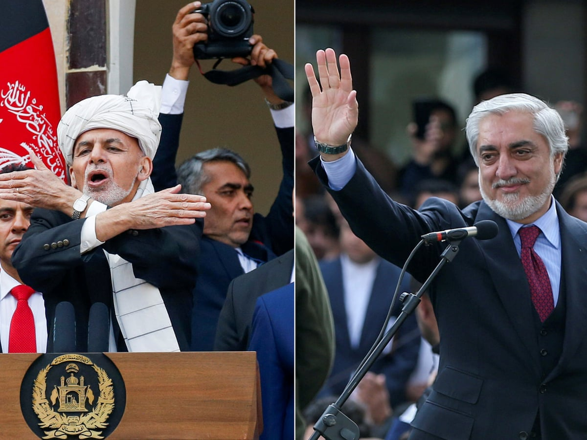 Blasts In Afghanistan As Presidential Rivals Hold Oath Ceremonies Afghanistan The Guardian