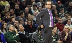 Raptors head coach Nick Nurse.
