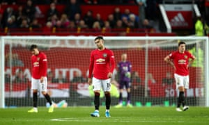 A dejected Andreas Pereira of Manchester United after Adam Lallana of Liverpool scored a goal to make it 1-1.