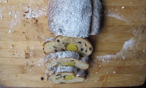 Perfect stollen.
