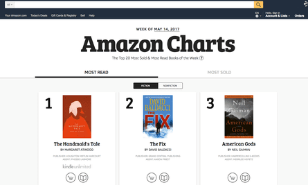 Will Amazon Charts challenge the New York Times bestsellers list?