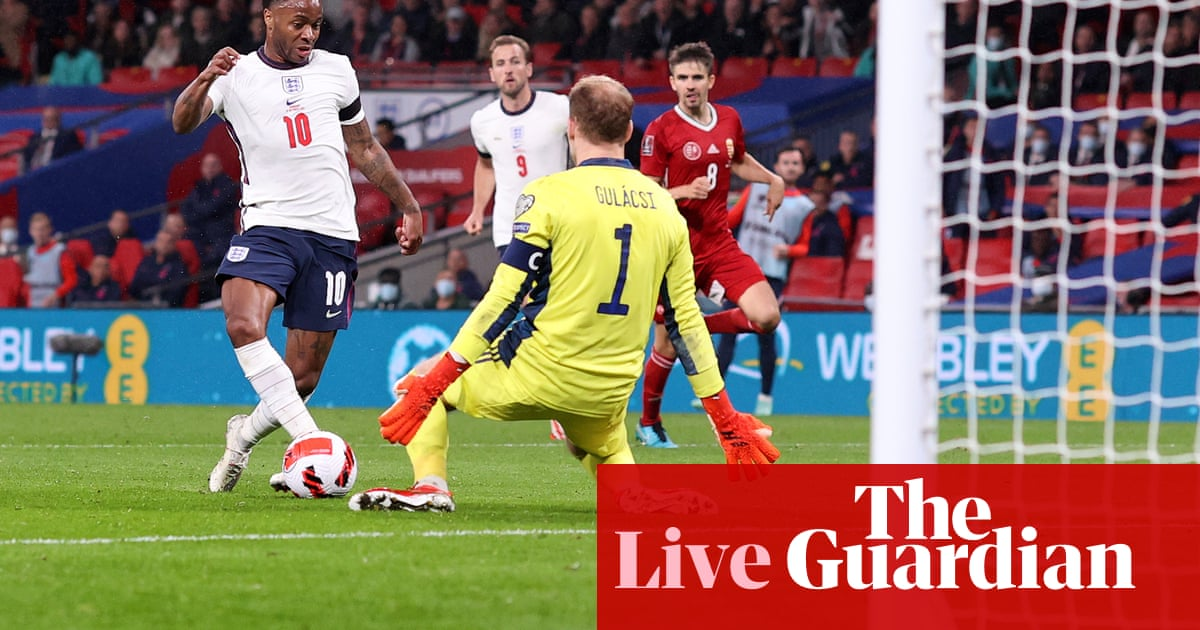 England 1-1 Hungary: World Cup 2022 qualifier – live reaction!