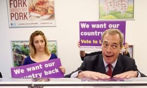 Nigel Farage in 2016