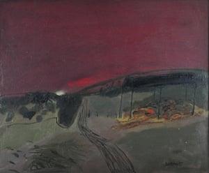 Black Barn, 1997 by Amanda Vesey.