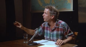 Spalding Gray in Swimming to Cambodia 1987.