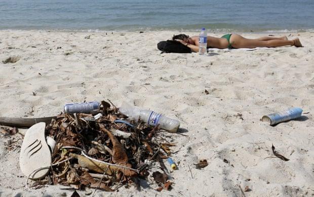 Million bottles world plastic
