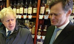 Boris Johnson with Matthew Offord