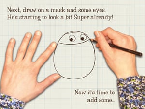 How to draw Supertato3