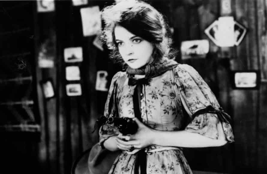Gish in The Wind (1928).