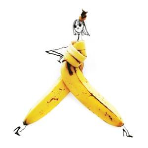 Banana from Edible Ensembles by Gretchen Röehrs