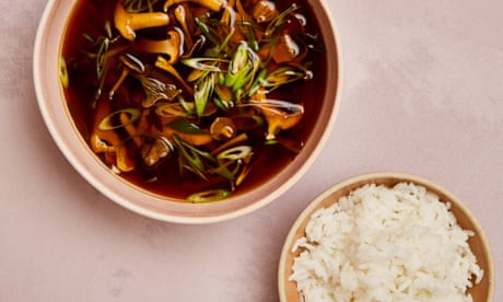 Meera Sodha's vegan wild mushroom miso broth recipe