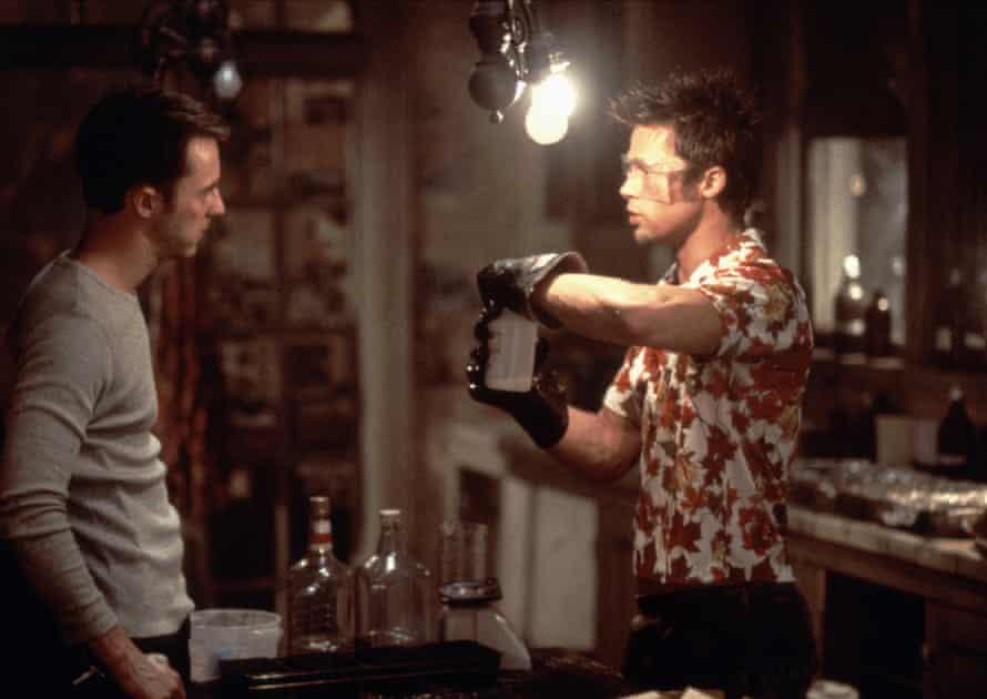 Edward Norton and Brad Pitt in Fight Club