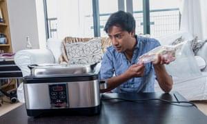 Rhik Sammader with Lakeland Sous Vide Multi Cooker