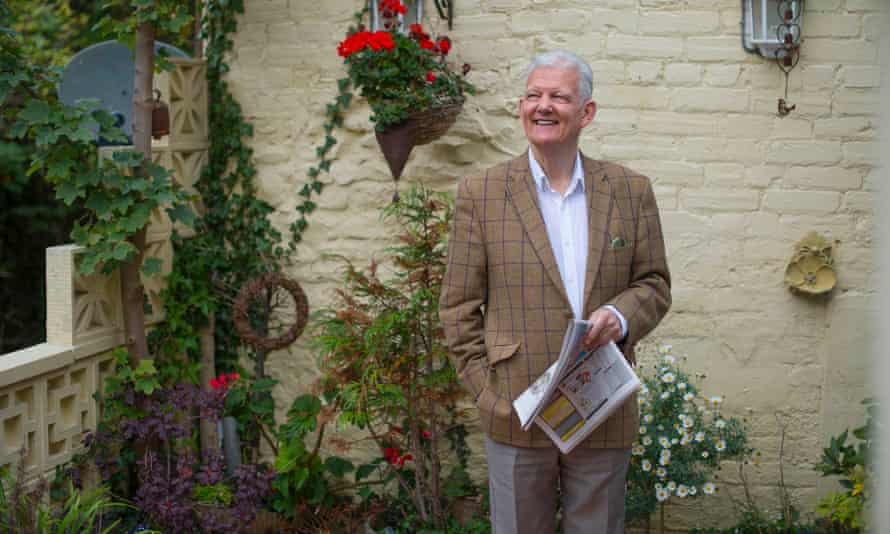 Eric McGraw at his home in Taunton, Somerset, in 2015.