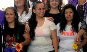 lba Lorena Rodríguez, Cinthia Marcela Rodríguez and Maria Orellana