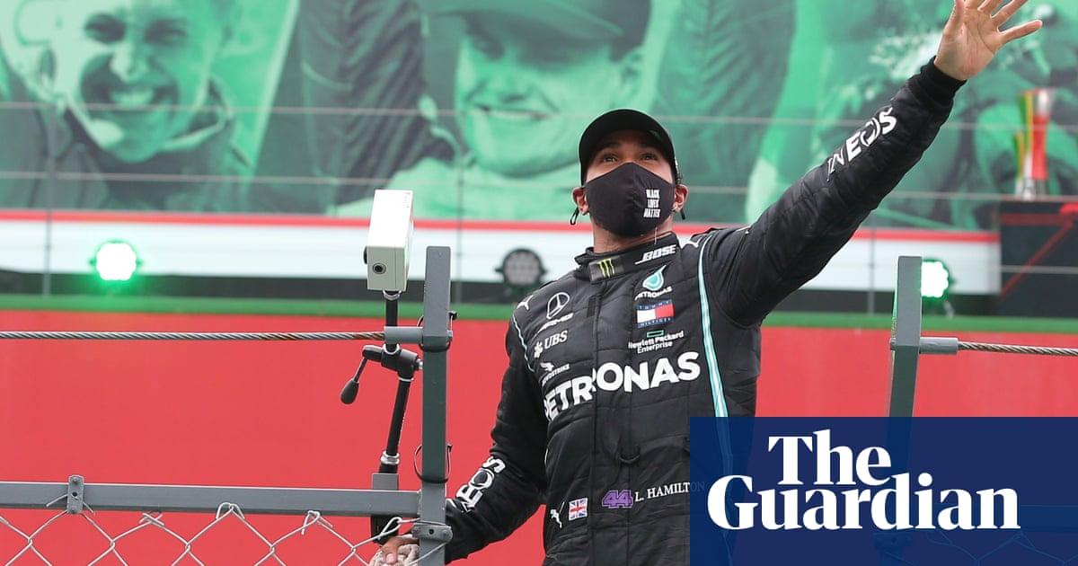 Lewis Hamilton wins Portuguese GP to break Michael Schumachers F1 record
