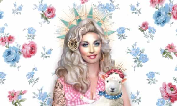 Dolly Parton's America artwork.
