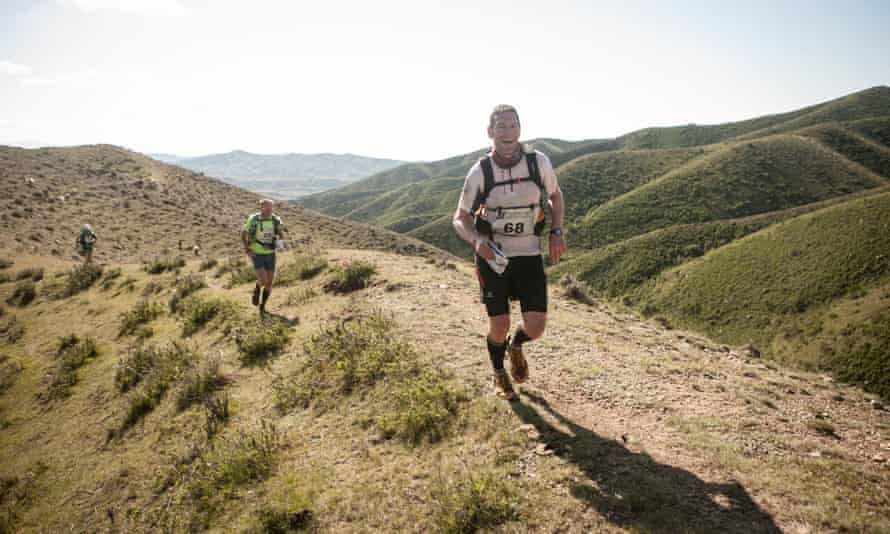 'I was lifted on a wave of euphoria … an almost spiritual high' ... Nick Mead in the 155 mile-Gobi March across the Gobi desert and Altai mountains.