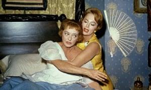 Bette Davis and Olivia de Havilland in Hush … Hush, Sweet Charlotte