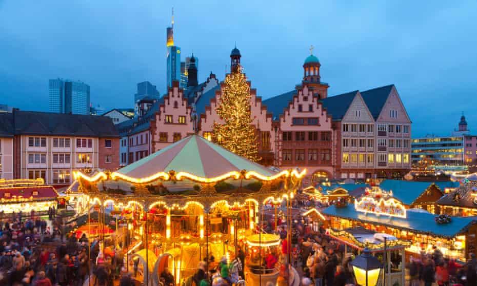 Christmas Market in Römerberg, Frankfurt