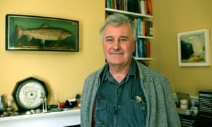 Richard Fortey, writer and paleontologist, at home in Marlow.