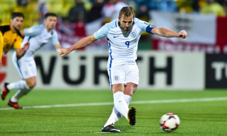 Harry Kane Penalty Gives England Win In Lithuania To End Qualifying Campaign