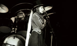 Top hats, corsets, fringed shawls and, of course, tambourines are part of her look.