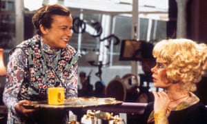 Julie Walters, left, with Celia Imrie in Acorn Antiques.