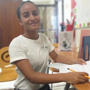 Hiury Santana Cuevas, 17, from La Romana, Dominican Republic