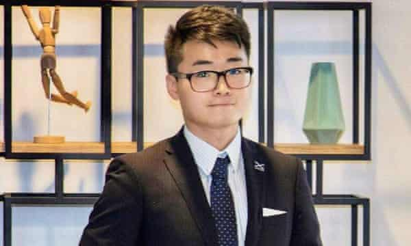 Simon Cheng was detained in China