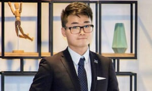 Simon Cheng has been detained by mainland Chinese authorities, his girlfriend has said.