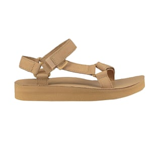 Summer's most covetable sandal – style with minimal tailoring Beige, £70, teva.co.uk