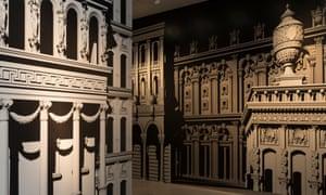 Pablo Bronstein's London in its Original Splendour.