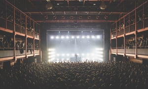 Stormzy performs at the AB music venue in Brussels.