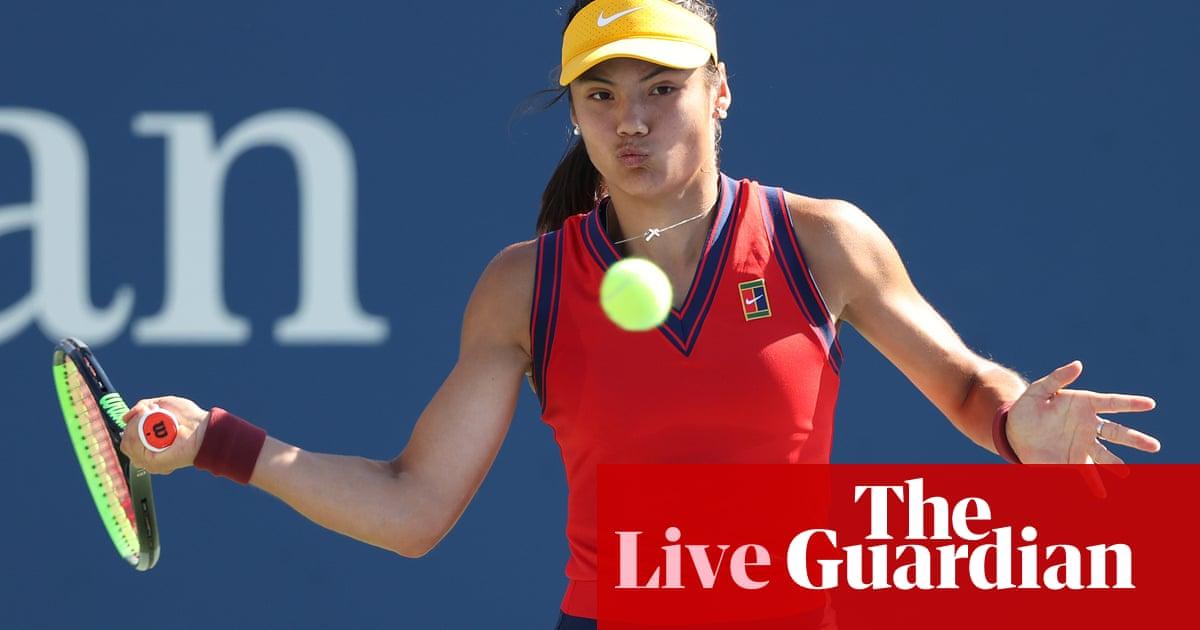Emma Raducanu v Shelby Rogers: US Open women's singles – live!