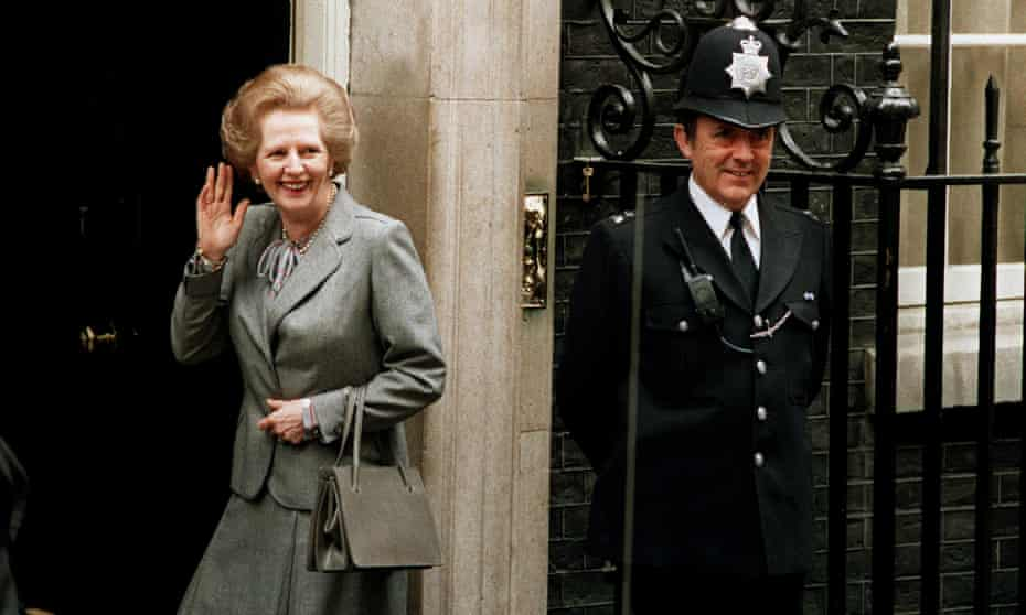Top job: Margaret Thatcher was famous for her love of handbags and was rarely seen without one. Her trusty Asprey is one of the many on display at the V&A's new exhibition.