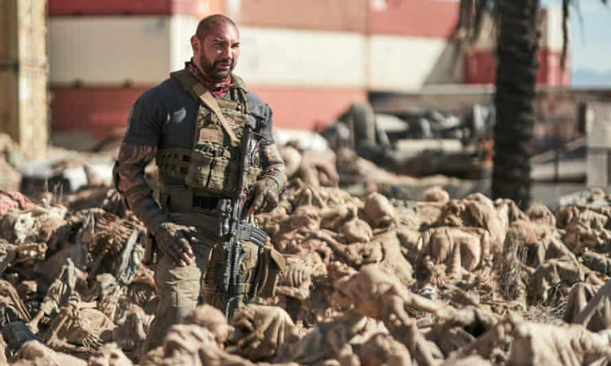 A two-and-a-half-hour generic splurge ... Dave Bautista in Army of the Dead.