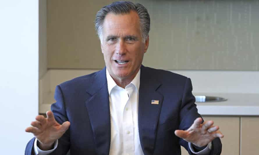 Mitt Romney said in a recent interview: 'We certainly can't have presidents asking foreign countries to provide something of political value. That is, after all, against the law.'