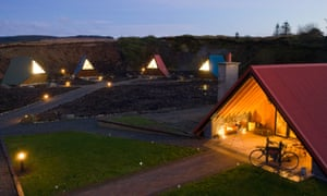 Sperrinview Glamping in County Tyrone, Northern Ireland.