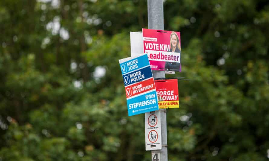 Tensions are high in the constituency where Labour is facing a difficult challenge from the Conservatives and from the former MP George Galloway.