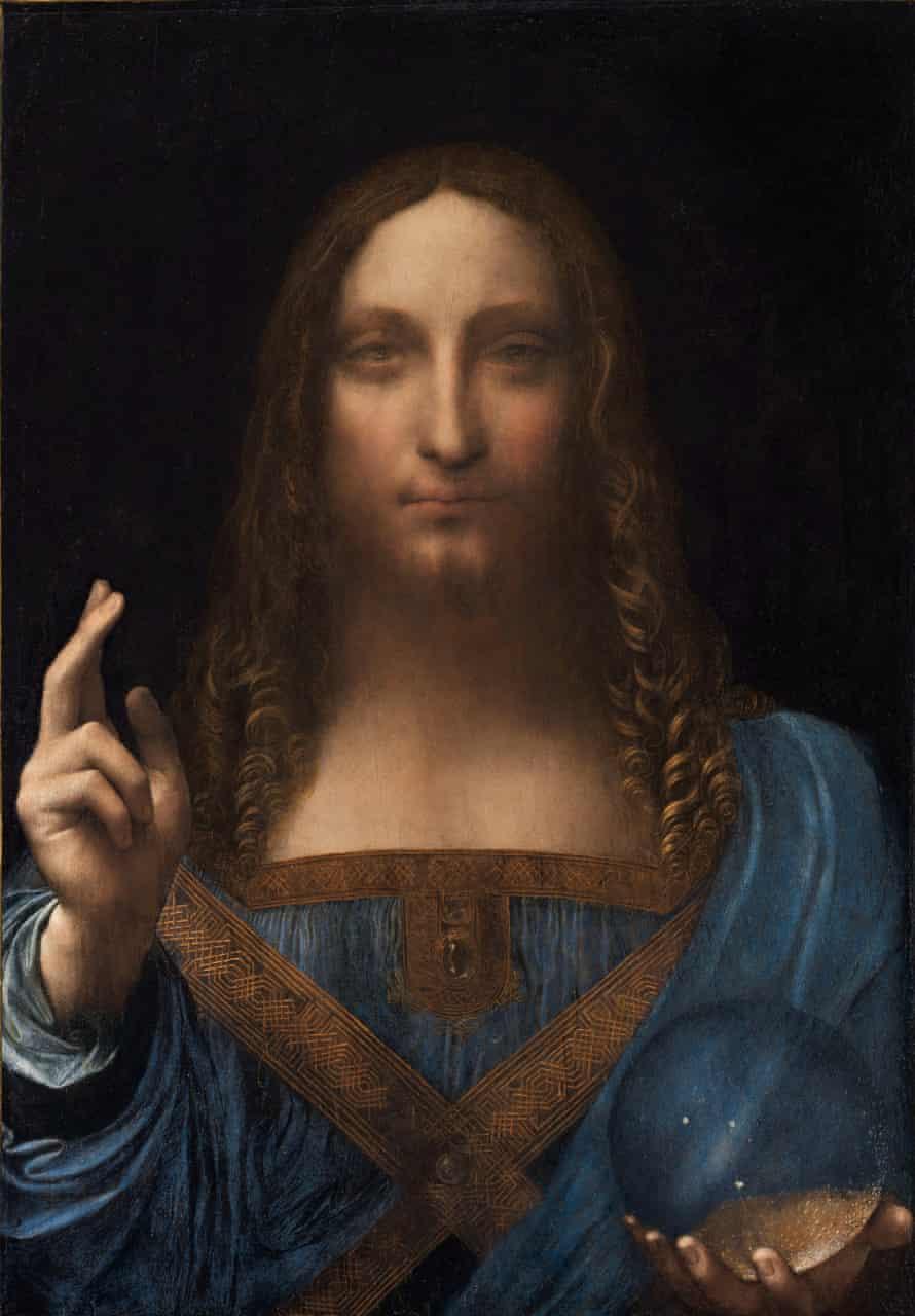 Salvator Mundi, c.1500 by Leonardo da Vinci