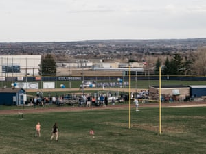 The Frank DeAngelis baseball field at Columbine high in Littleton, Colorado.