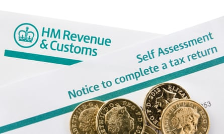 Revenue self-assessment forms and money