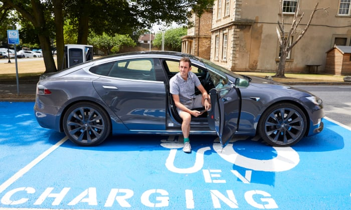 One man and his Tesla: an electric car's journey from Brighton to