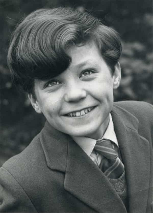 Michael Cashman, aged 12, in a publicity shot from 1963