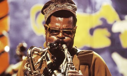 Blowing them away ... Rahsaan Roland Kirk.