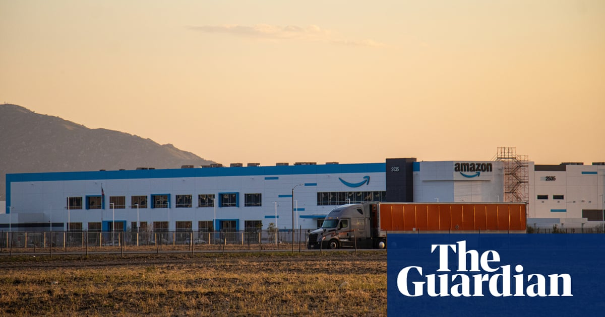 Amazon's warehouse boom linked to health hazards in America's most polluted region