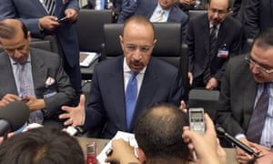 Saudi Arabia's energy minister, Khalid al-Falih