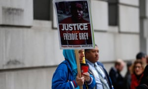 The six officers facing trials over the death of Freddie Gray after a spinal injury in the back of a police van in Baltimore were due in court this winter.