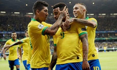 Brazil 2-0 Argentina: Copa América semi-final – as it happened